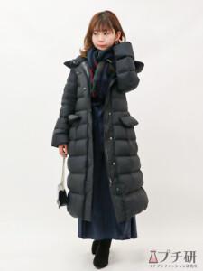 ウルトラライトダウンフーデットコートを使った冬のデートコーデ