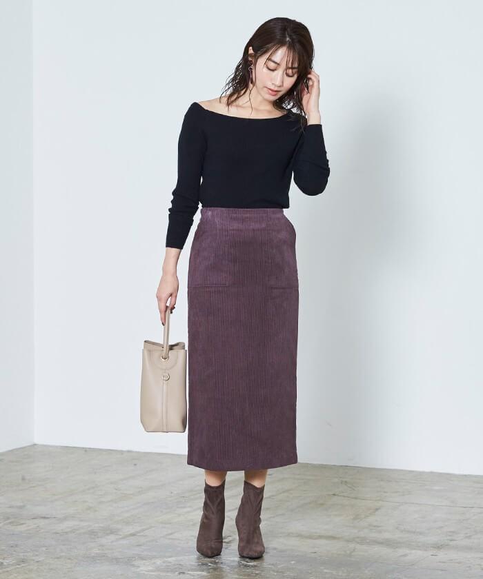 2019秋ur's(ユアーズ)のファッションコーデ
